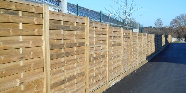 Technivert réalise tout type de clôture sur mesure ~ Materiaux Bois Aquitaine