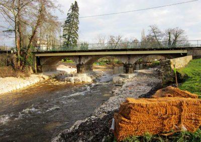 Restauration de la continuité écologique du barrage de Villandraut (33)