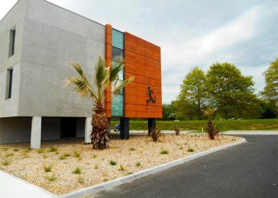 Plantations pour la Clinique des sports de Mérignac (33)