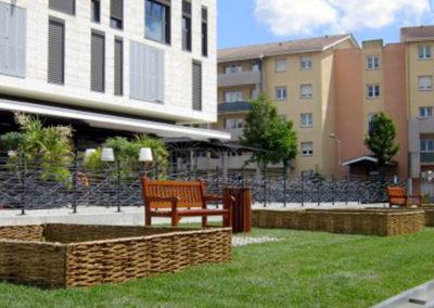 Technivert réalise le jardin médiéval de Mérignac (33)