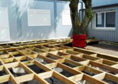 Terrasse en bois pour TEMSOL SIÈGE à Mérignac (33)