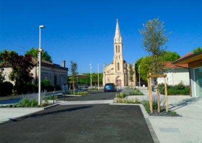 Aménagement d'une avenue à Audenge centre (33)