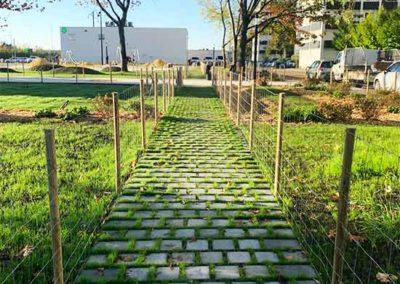Création du square Allende à Floirac (33)