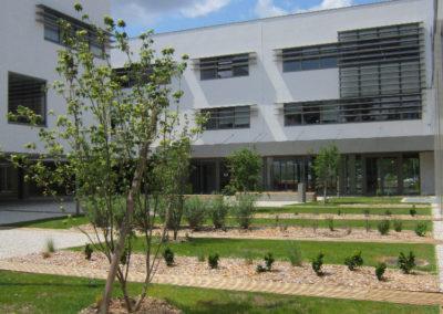 Création des espaces verts du CFA de Bordeaux Lac (33)